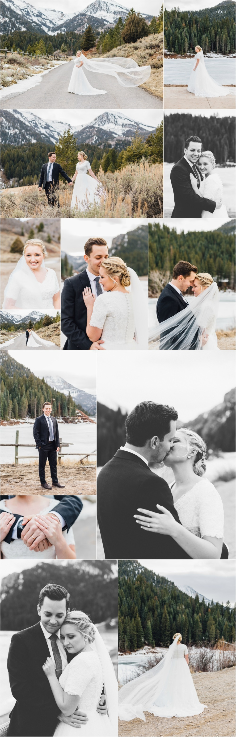 American Fork Tibble Fork Bridal Photographer