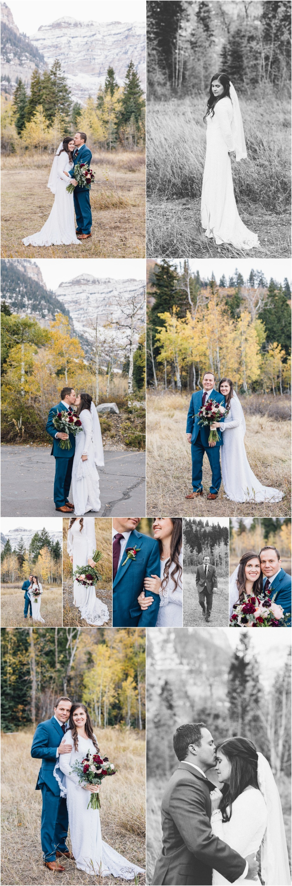 Aspen Grove Bridal Photographer