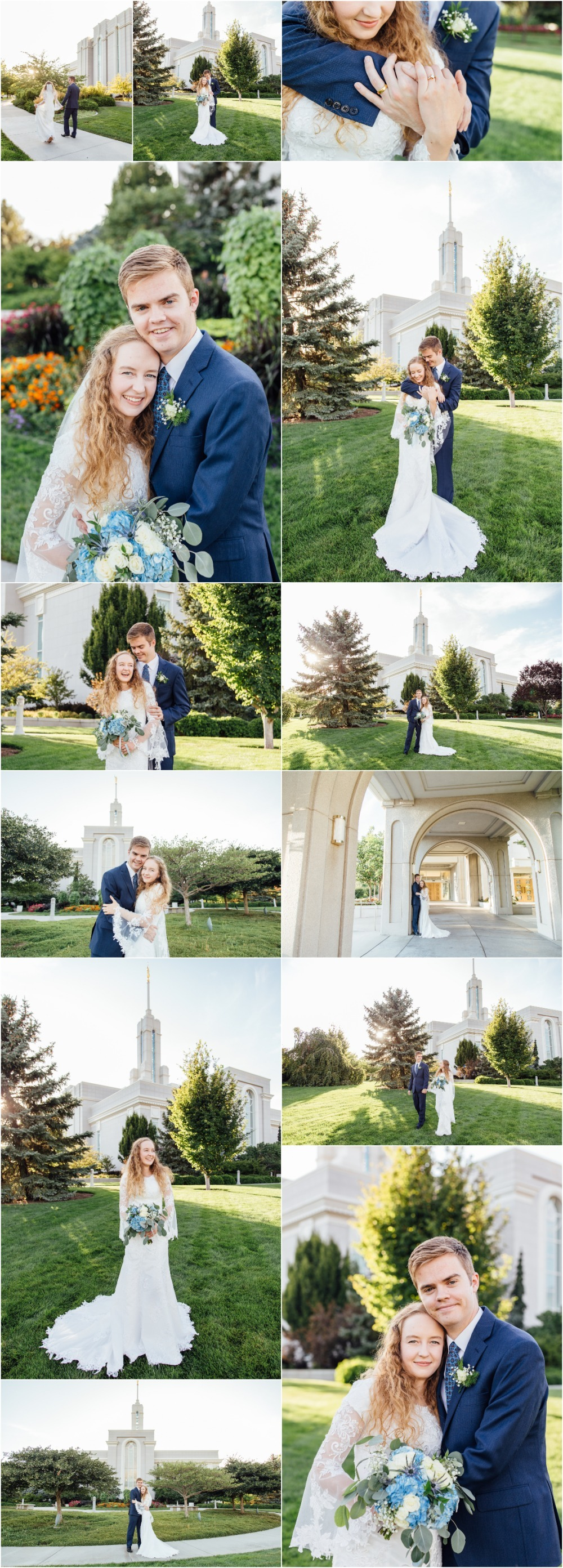 Mount Timpanogos Temple Bridal Photographer