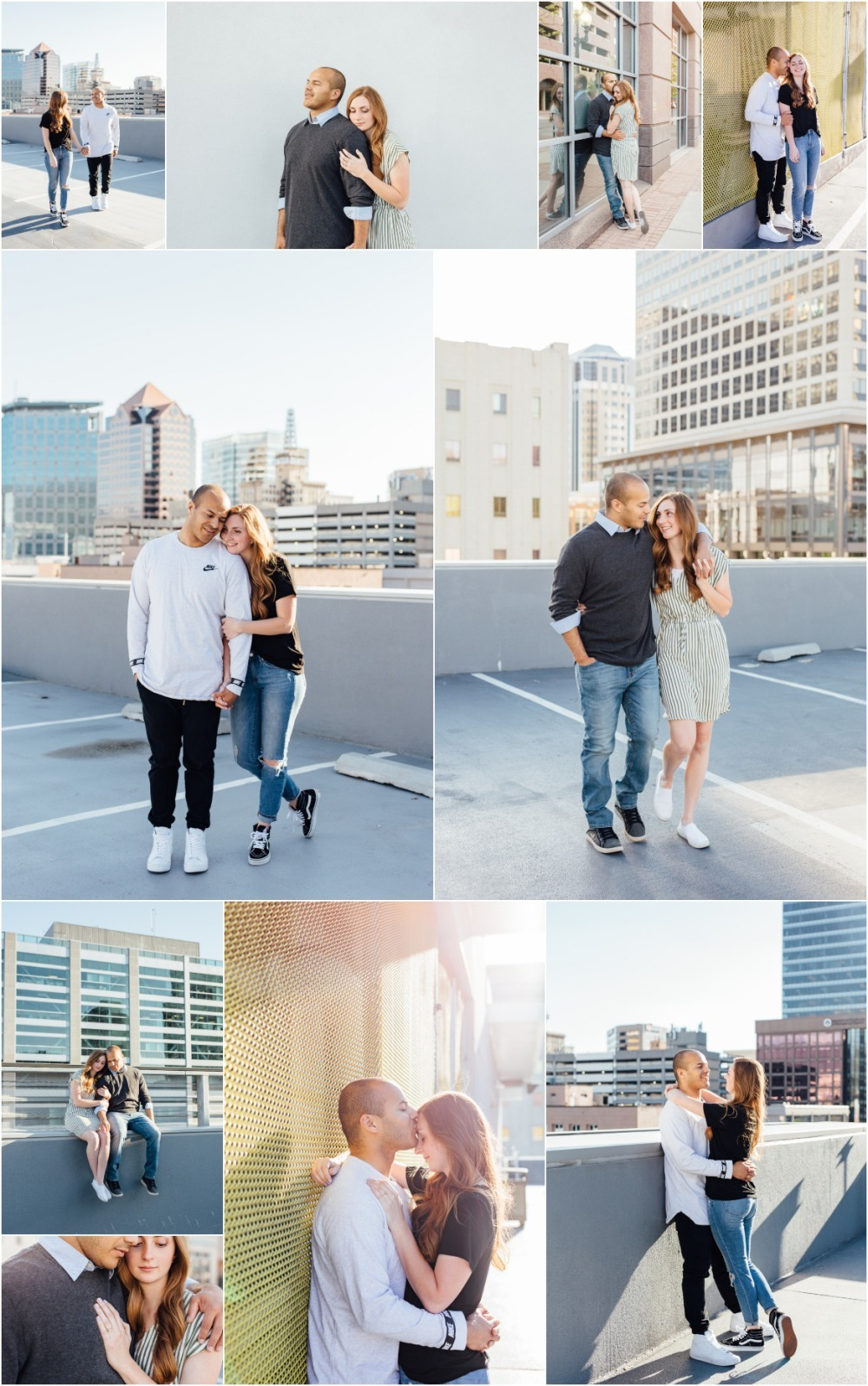 Downtown Salt Lake City Engagement Photography
