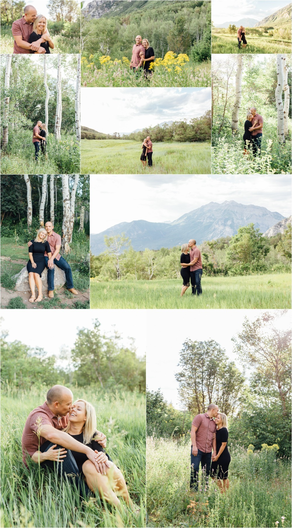 Provo Canyon Engagement Photographer