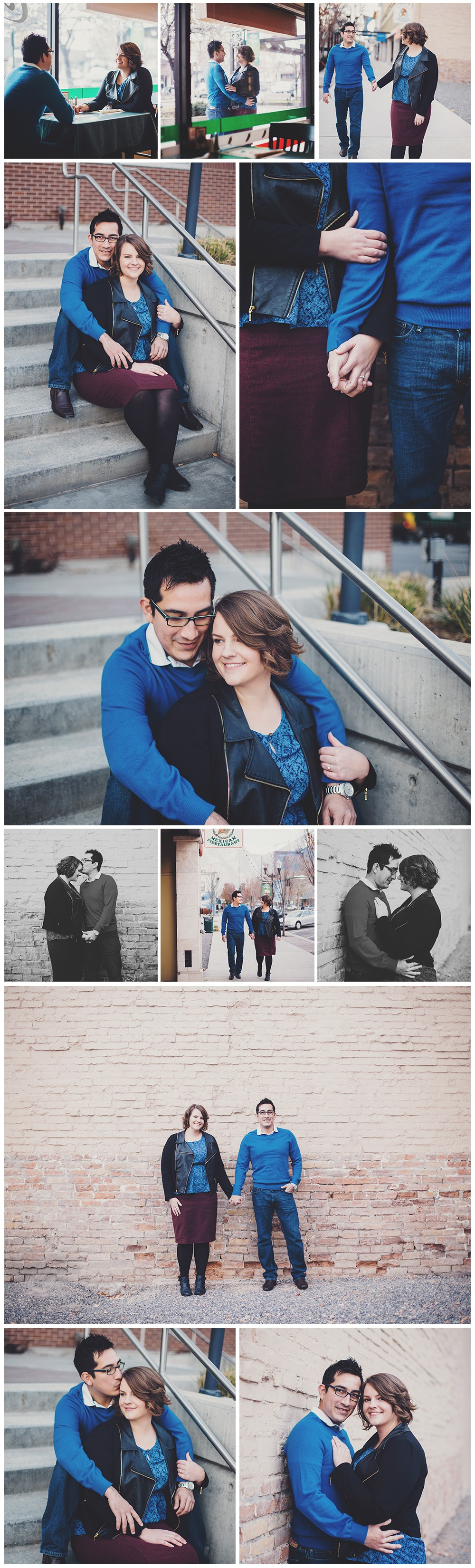 Provo Center Street Engagement Photographer