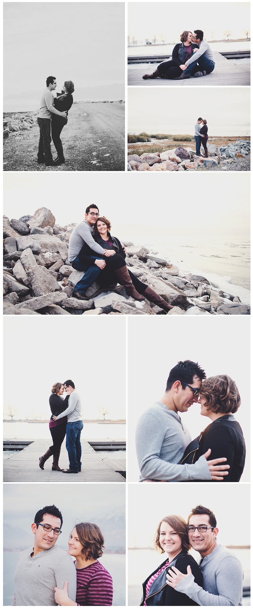 Provo Harbor Engagement Photographer