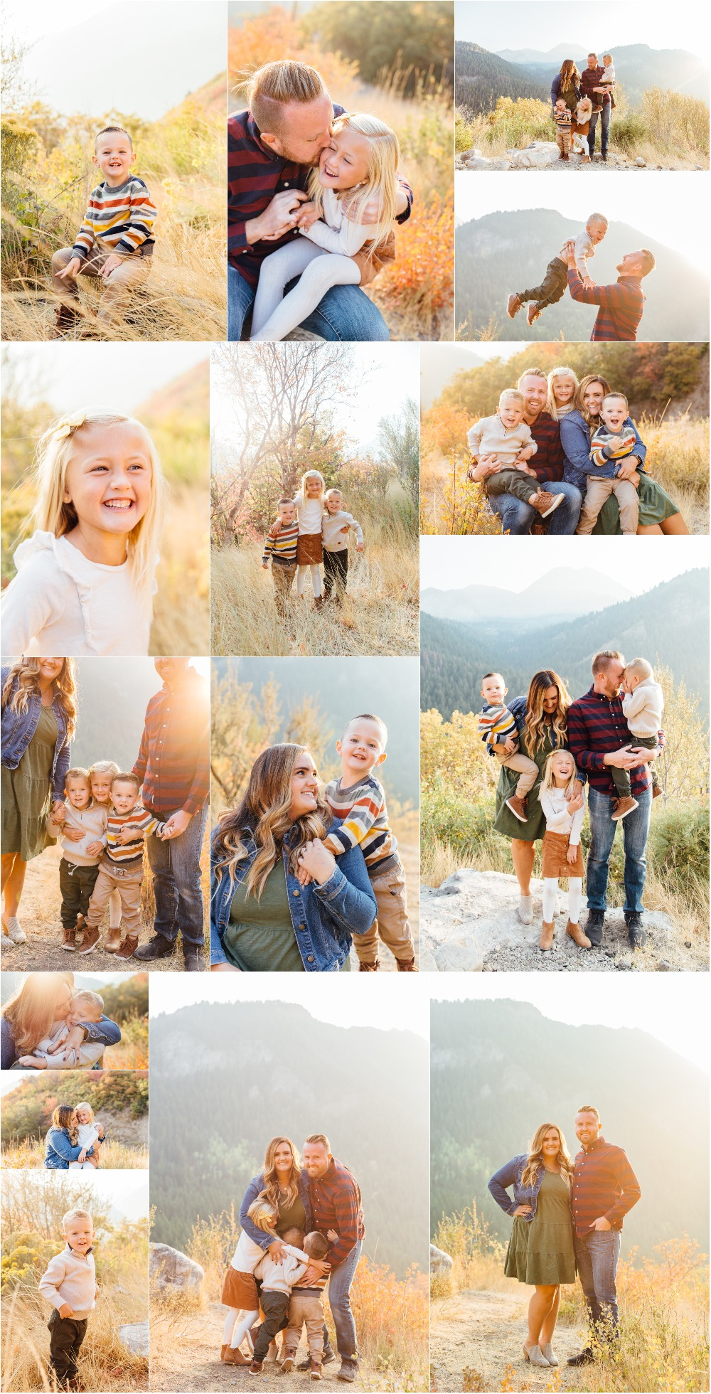 American Fork Family Photographer - Pine Hollow Trailhead