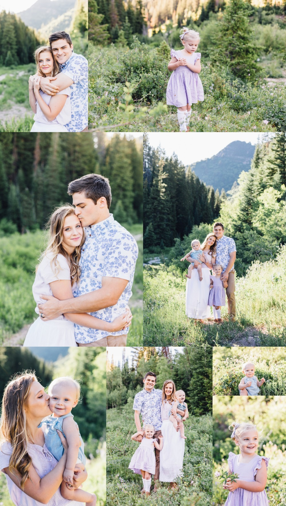 Big Cottonwood Canyon Utah Family Photographer