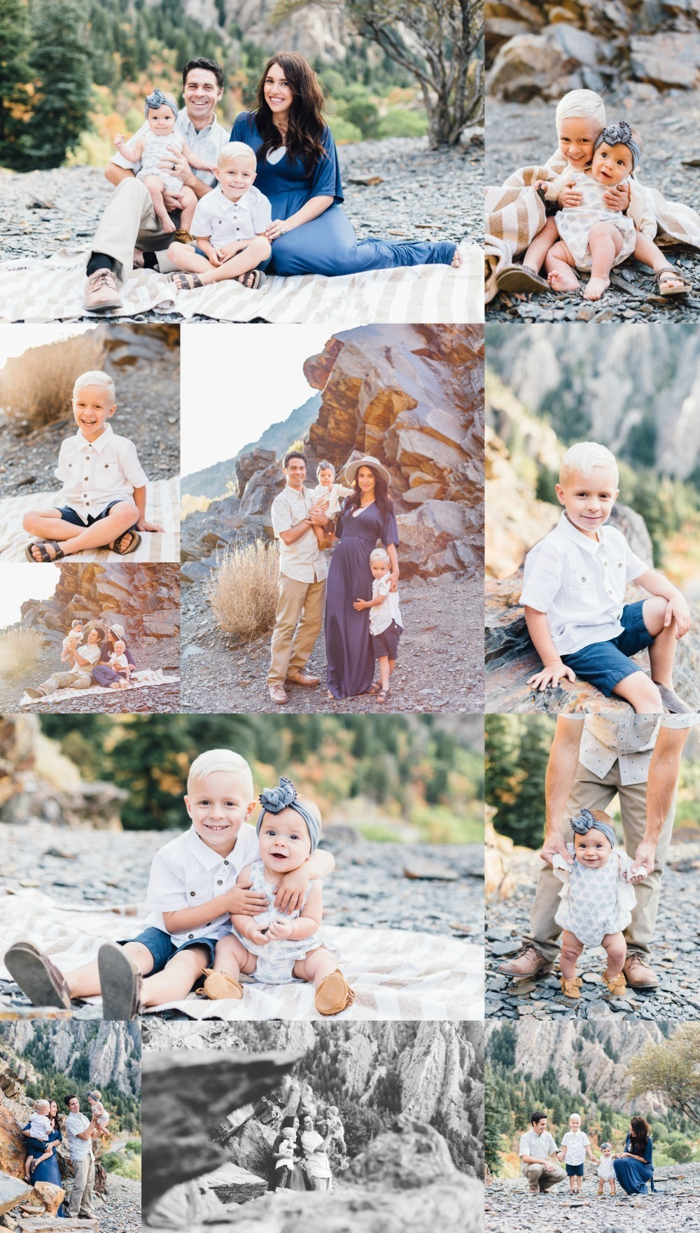 Utah Family Photographer Big Cottonwood Canyon