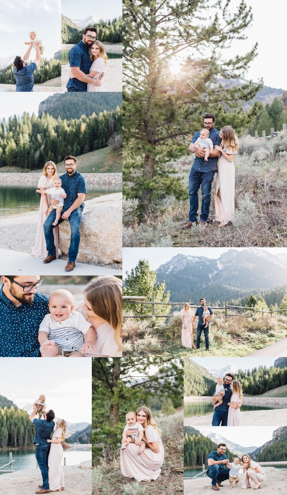 American Fork Tibble Fork Utah Bridal Photographer