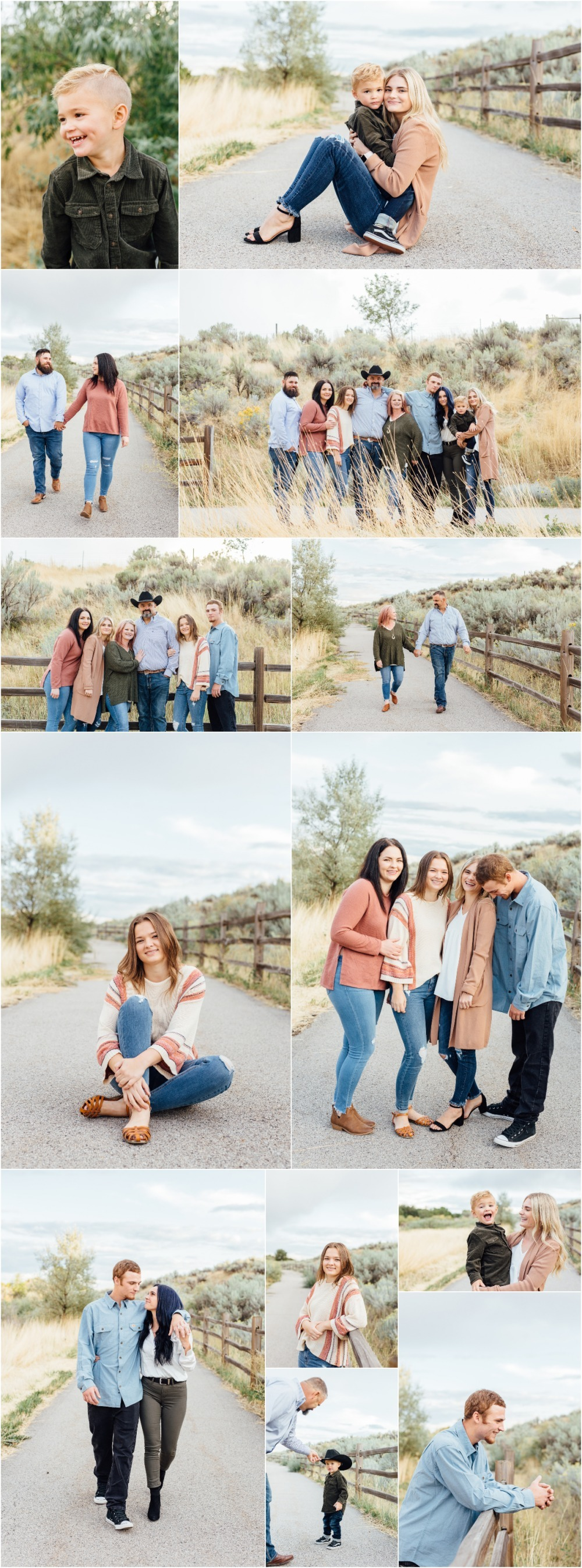 Highland Extended Family Photographer