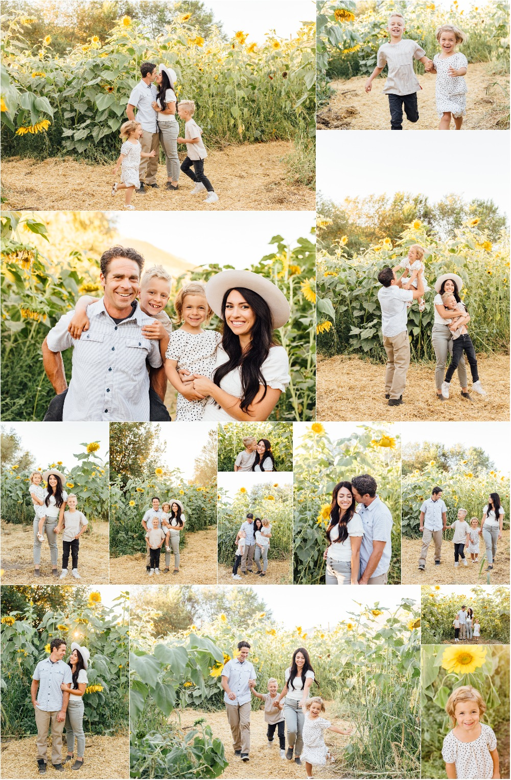 Pleasant Grove Family Photographer - Sunflower Field Photography
