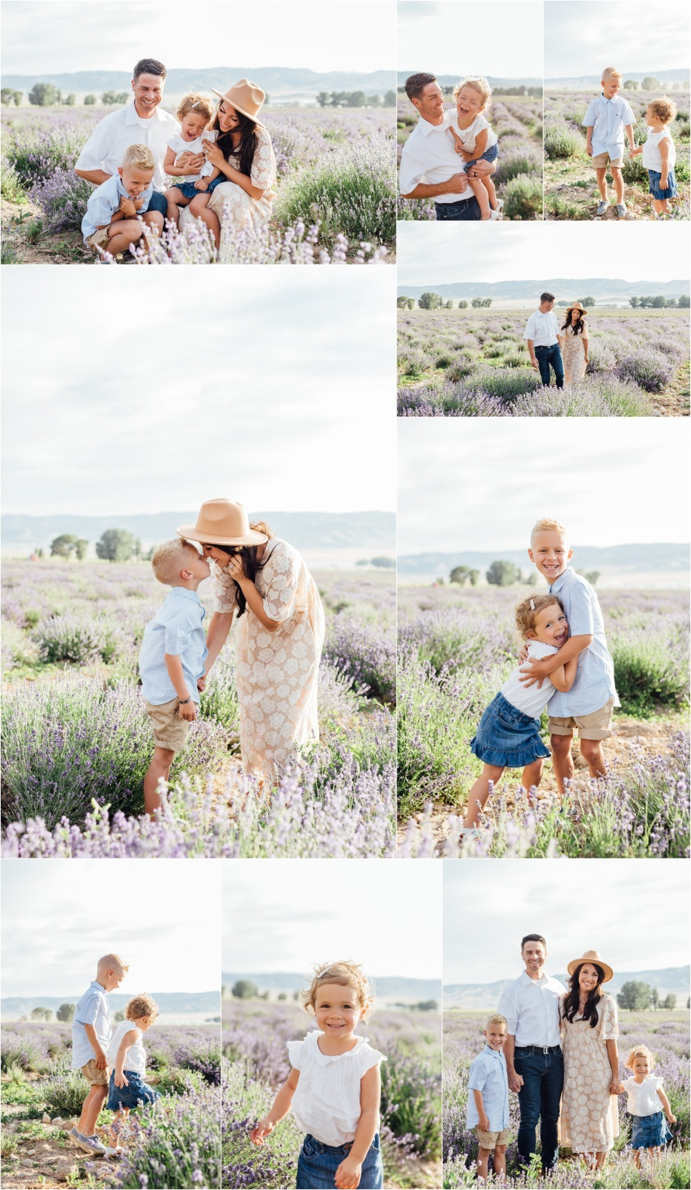 Mona Lavender Field Family Photographer
