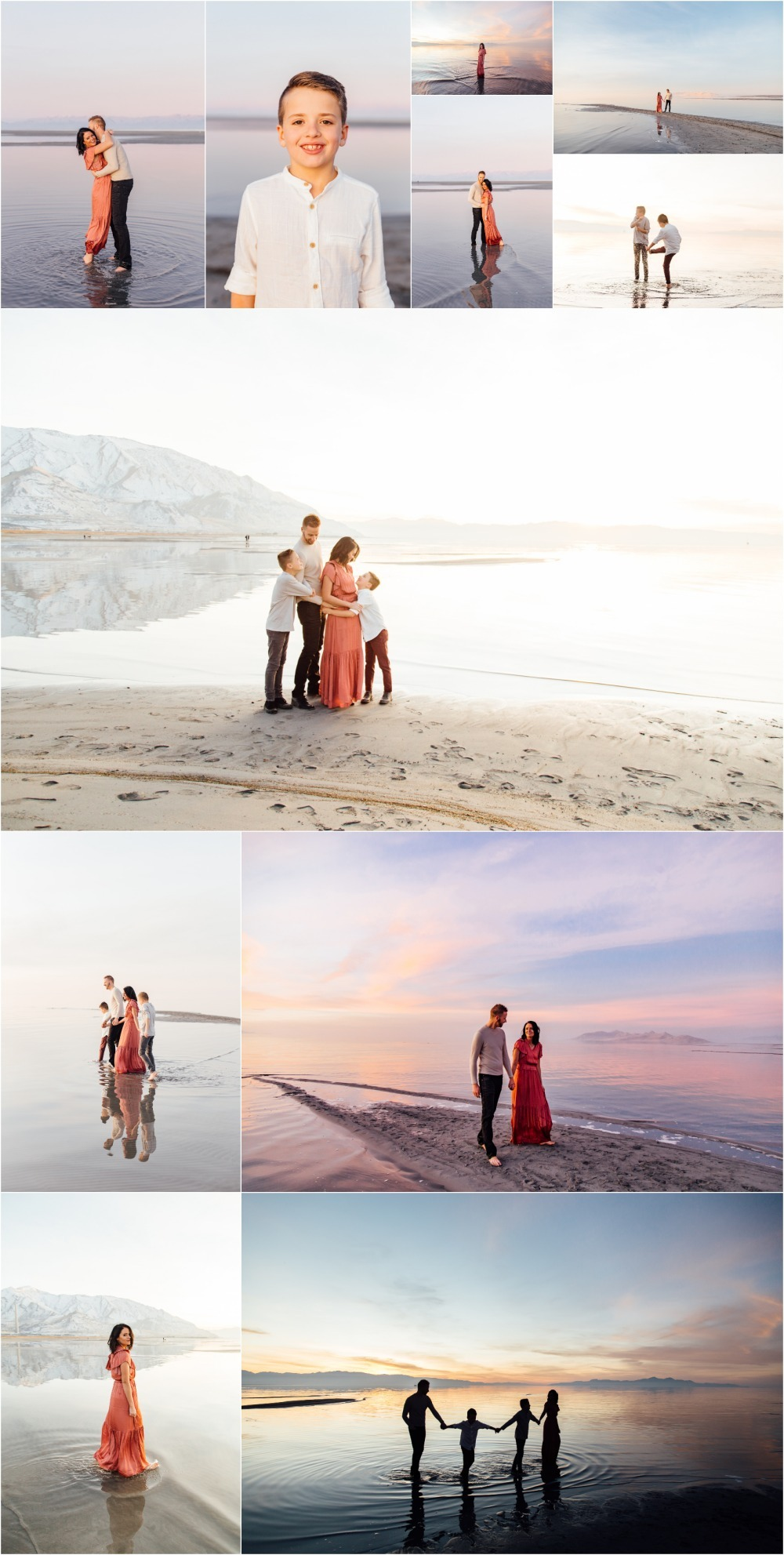 Utah Salt Flats Family Photographer
