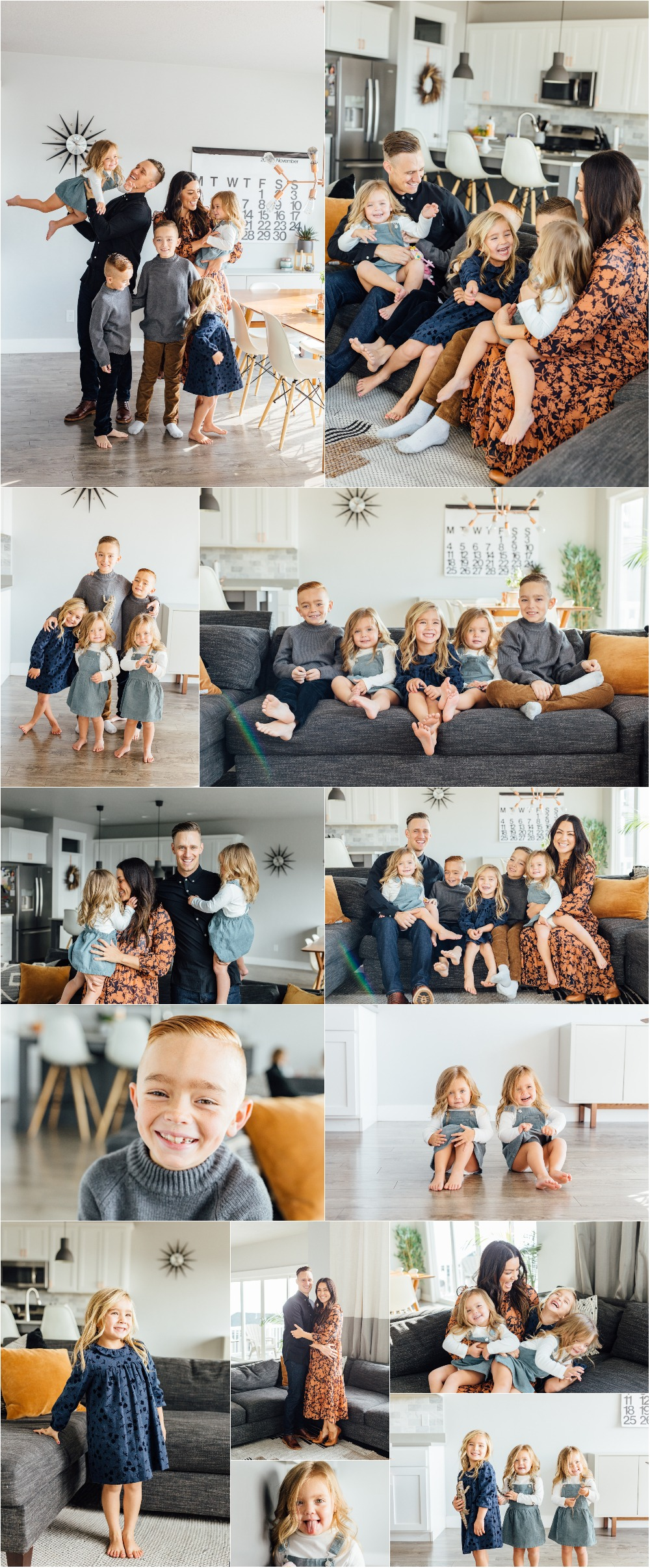 Utah County In-Home Family Photographer