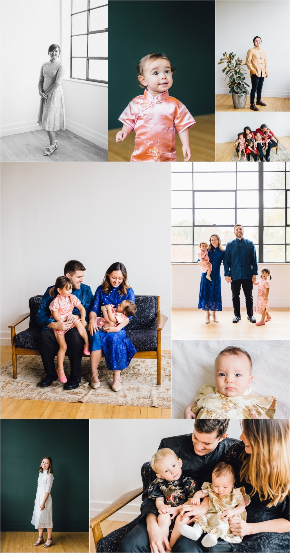 Utah Studio Family Photographer