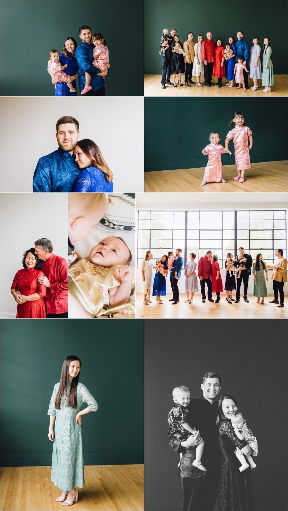 Utah Studio Family Photography
