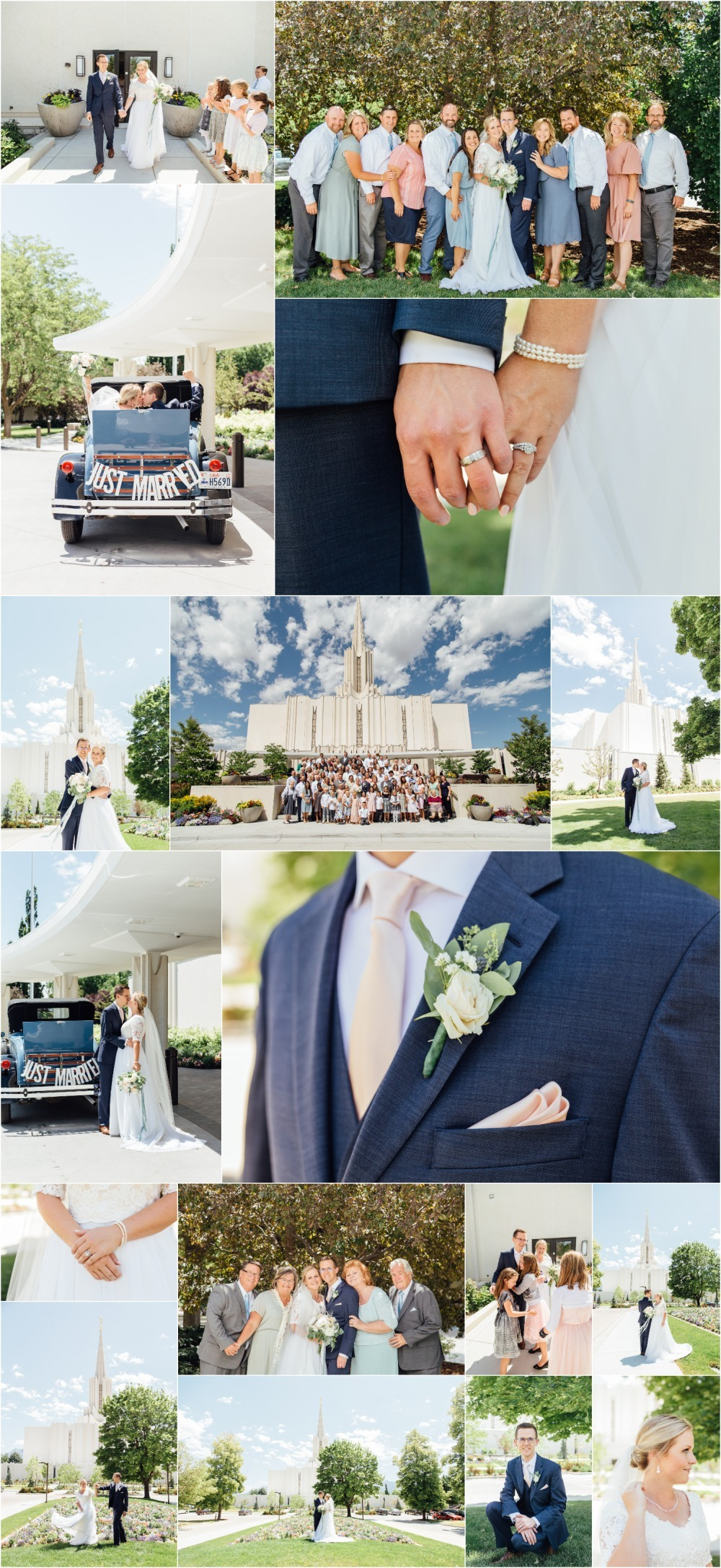 Jordan River Temple Wedding Photographer