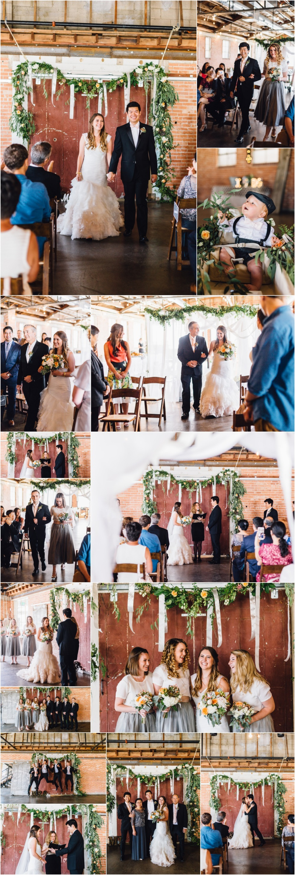 Salt Lake City Wedding Ceremony Photographer