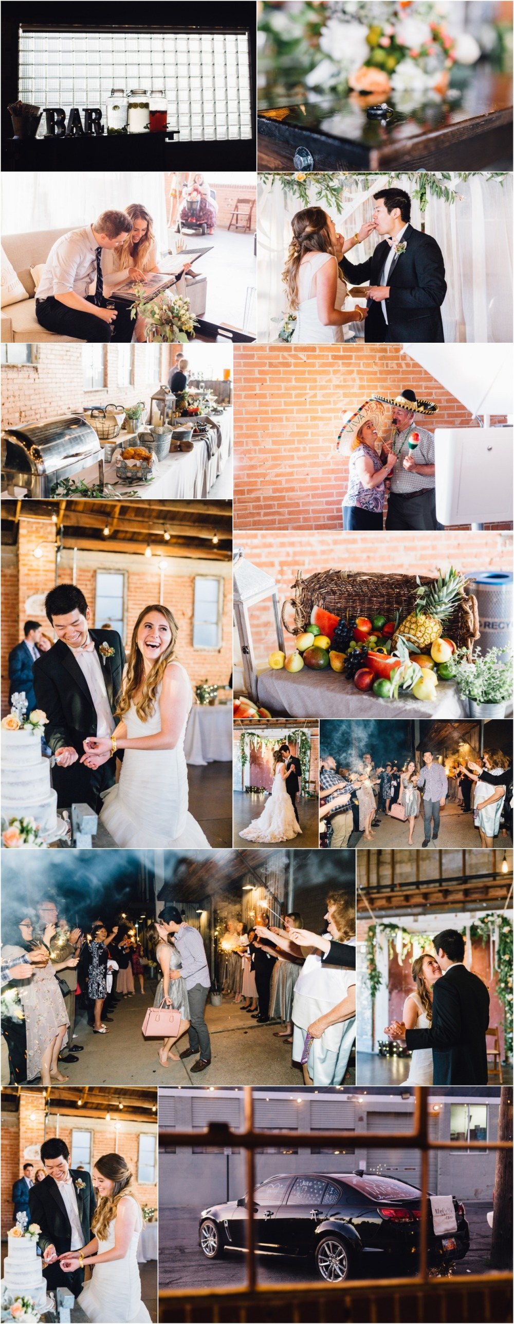 Salt Lake City Wedding Reception Photographer