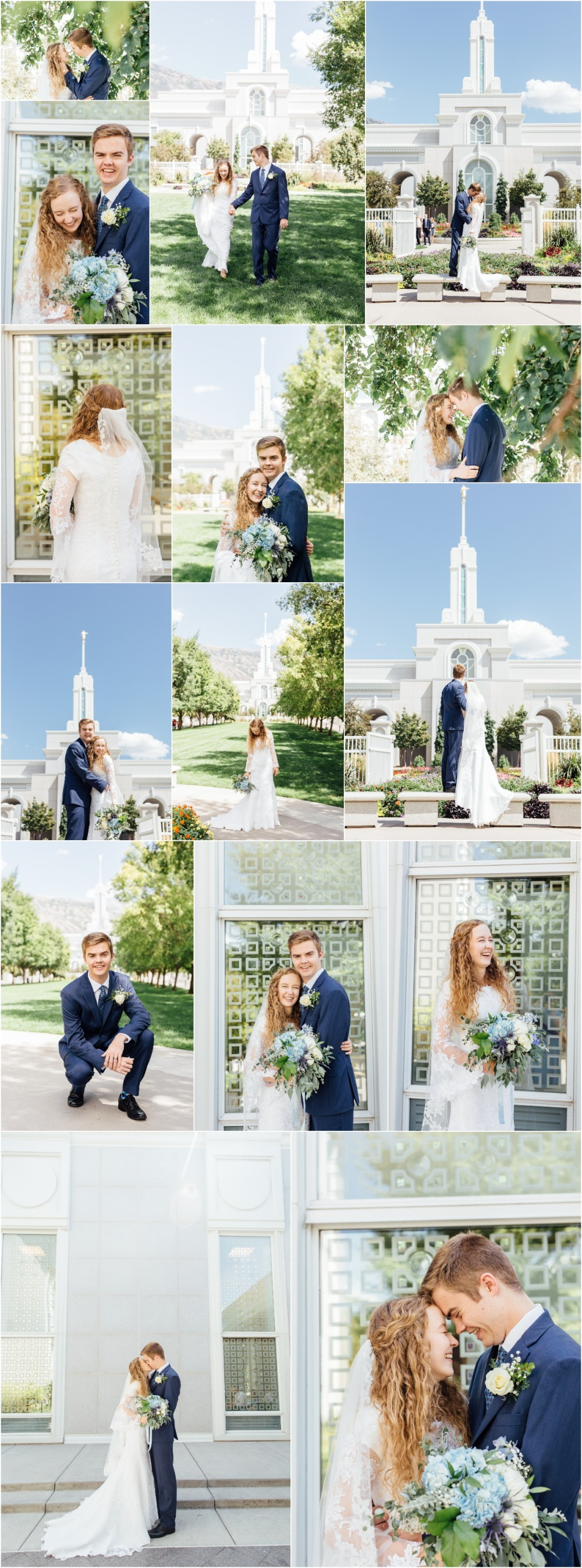 Mount Timpanogos Temple Wedding Photographer